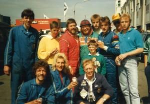 Juni 1987 beim 24 Stundenrennen Nürburgring