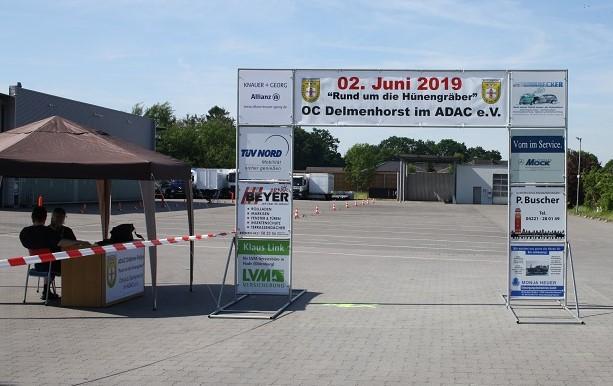 """ADAC Oldtimer Klassik """"Rund um die Hünengräber"""" 2019"""